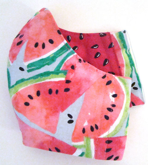 Watermelon Print Face Mask